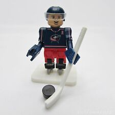 OYO NHL Columbus Blue Jackets Jack Johnson, Hockey Team Player #7 Mini Figure