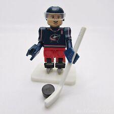 OYO NHL Columbus Blue Jackets Jack Johnson, Hockey Team Player #7 Mini Figure