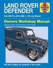 Land Rover Defender (02/2007-2016) Reparaturanleitung workshop manual 90 110 130
