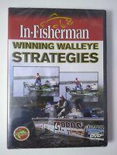 NEW In-Fisherman Winning Walleye Strategies fishing DVD VIDEO w/ Scott Glorvigen