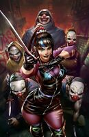 🚨🦇🔥 BATMAN #100 DERRICK CHEW Exclusive PUNCHLINE Virgin Variant Ghost-Maker