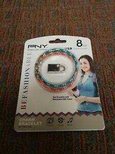 PNY Attaché 8GB USB Flash Drive P-FDI8GBCHM-GE