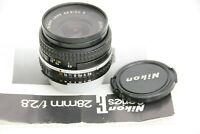 Nikon Lens Series E 28mm f/2.8 AIS MF
