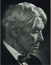 1960s Vintage Carl Sandburg Portrait Yousuf Karsh Photogravure Photo Print