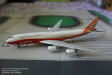 JC Wing Boeing 747-8 Intercontinental House Color Sunrise Diecast Model 1:400