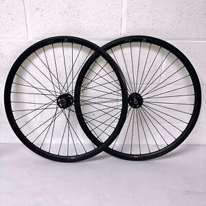 Gipiemme Track Fixie Wheelset Pista Fixed Wheels BLACK Flip Flop Hub