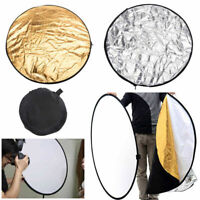 5 in 1 Light Mulit Collapsible Disc For Photography Panel Reflector Diffuser Hot