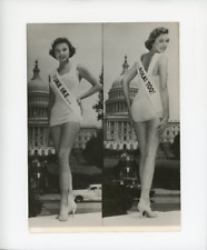 Marge Lucey, Miss Washington 1956 Vintage silver print Tirage argentique  13