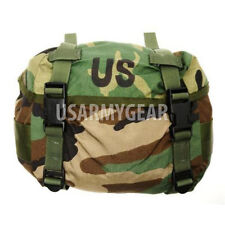 796bbd9b9f5a US Army Military Fanny Small Butt Pack Training Backpack Woodland Waist Bag  New