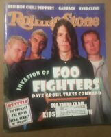 Rolling Stone Magazine Issue718 October 1995 Invasion Of Foo Fighters Dave Growl