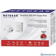 NETGEAR XWNB5201-100NAS Powerline 500 + WiFi ADAPTER/ EXTENDER