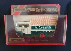 MATCHBOX MODELS of YESTERYEAR Y27 1922 FODEN C TYPE STEAM WAGON in WRONG Y19 BOX