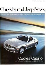 Chrysler Jeep Dodge News Heft 1 Sommer 2004 PT Cruiser Cabrio Crossfire 300C