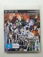 Lost Dimension PS3