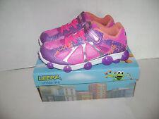 NIB Stride Rite Leepz Light Up Sneaker Kids Girls Shoes size 13 W Summer Purple