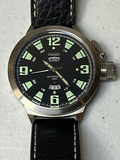 Invicta 200M Automatic Watch 52MM #2641 (Luminous Green Hands / Hours) Day Date