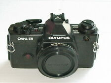 OLYMPUS OM-4Ti BLACK CAMERA BODY MINT