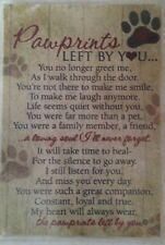 """Pet  / Dog Memorial Poem Laminated 5 3/8"""" x 7 3/8"""""""