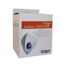Drager xplore 1720 FFP2/P2  Dust mask 10 per box