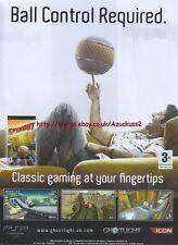 "Spinout ""PSP"" 2007 Magazine Advert #4926"
