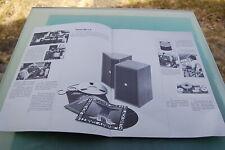 Revox AX- Serie Lautsprecher Prospekt