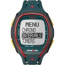 Orologio TIMEX SLEEK 150 LAP TW5M00700 TAP SCREEN Digitale Silicone Verde Giallo