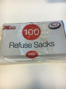 Tidyz 100 Refuse Bags 70L