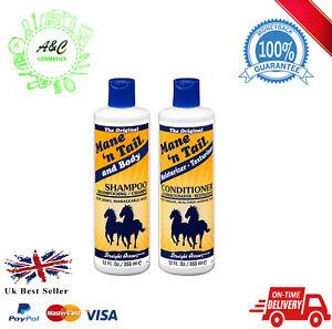 Mane N Tail Original Conditioner and Shampoo 12oz-  UK SELLER