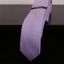 DUCHAMP PARIS Lavender Blue Mutli Geometric Patterns Men's Silk Necktie Tie -NEW