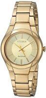 Citizen Eco-Drive Women's FE2092-57P Paradigm Gold-Tone Bracelet 29mm Watch