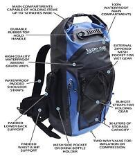 Penn Fishing DryCASE BP-35 Masonboro Waterproof Backpack 1830.71 cu. in - Blue
