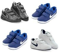 Nike Boys Kids Pico 4 Shoes Sports School Casual Junior Trainers Leather Size
