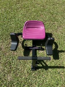 BODY BY JAKE HIP & THIGH EXERCISE MACHINE W/ 5 RESISTANCE BANDS, Nice!!