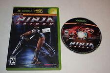 Ninja Gaiden Microsoft Xbox Game Disc w/ Case