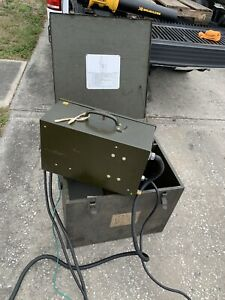 ANTIQUE 1964 LINDE MILITARY MiG WELDER, MUSEUM CONDITION, SWM-9-A1, 5356HQ 55N88