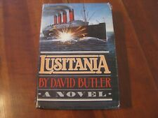 """1982 """"Lusitania"""" by David Butler Hardcover Book w/Dust Jacket"""