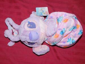 "Disney Parks Lilo & Stitch Angel Babies Blanket Pouch Baby 10"" Plush Doll - NEW"