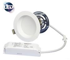 """Zen 4"""" LED Dimmable Downlight Kit 11w White Recessed Ceiling Spot Light 4000k"""