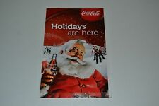 Collectors Coca Cola Promo Christmas Tree Seeds From Truck Tour 2010 Rare Santa