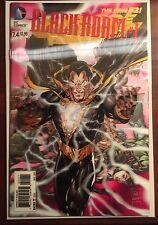Justice League of America #7.4 3D Variant NM+ 1st Print DC New 52 Black Adam