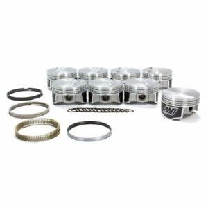 """Wiseco K398X3 Standard Stroke Piston Set - 4.030"""" Bore; -3.2cc; For GM LS NEW"""