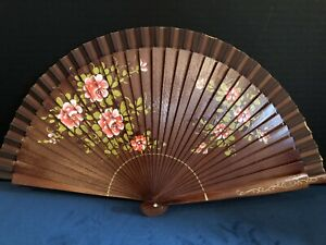 Spanish Hand Fan with  Persimmons