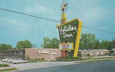 Holiday Inn Motel Statesboro Georgia Postcard 1960's