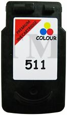 Remanufactured CL 511 Colour Ink fits Canon Pixma MP250 All-In-One