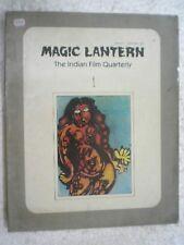 MAGIC LANTERN THE INDIAN FILM QUARTERLY VOL 1/1 RARE BOOK INDIA 1991