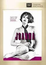 Joanna DVD, New! FREE SHIPPING!! Rare -Genevieve Waite, Donald Sutherland