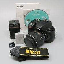 Nikon D3300 DSLR Camera - Black (Kit w/ AF-S DX VRII 18-55mm Lens) - 5K Clicks