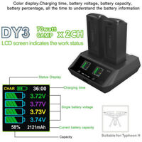 For YUNEEC H480 Typhoon H 2in1 70W 6Ax2 Quick Intelligent Balance Charger New E