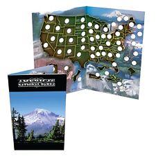 National Park Quarter Collection Book Folder Map,
