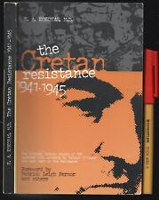 WWII The CRETAN RESISTANCE to Germans in CRETE 1941-1945  200 pages VGC++